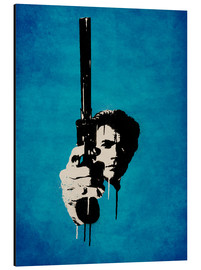 Alubild  Clint Eastwood - Dirty Harry - Durro Art