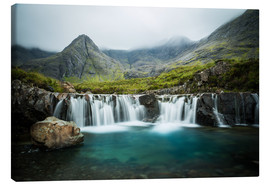 Leinwandbild  The Fairy Pools, Glen Brittle, Skye, Schottland - Markus Ulrich