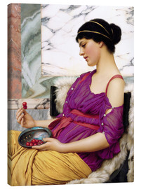 Leinwandbild  Ismenia - John William Godward