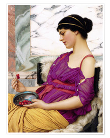 Premium-Poster  Ismenia - John William Godward