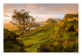 Premium-Poster The Quiraing, Skye, Scotland