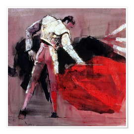 Poster  Torero - Mark Adlington