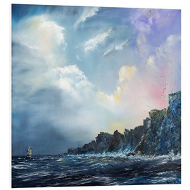 Forex  North wind pictures, oil on canvas - Vincent Alexander Booth