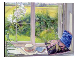 Alubild  Leseplatz am Fenster - Timothy Easton