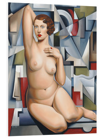 Forex  SEATED CUBIST NUDE - Catherine Abel