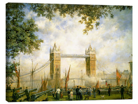 Leinwandbild  Tower Bridge Aussicht vom Tower of London - Richard Willis
