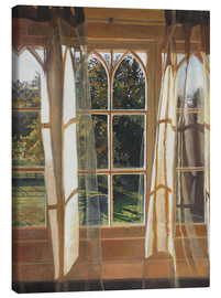 Leinwandbild  The yellow window, 2013, - Helen White