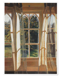 Poster  The yellow window, 2013, - Helen White
