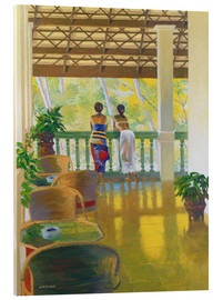 Acrylglasbild  Veranda - William Ireland