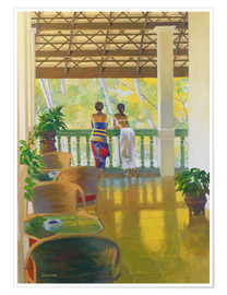Premium-Poster  Veranda - William Ireland