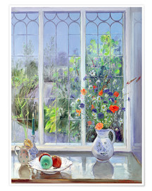 Premium-Poster  Stillleben im Fenster - Timothy Easton