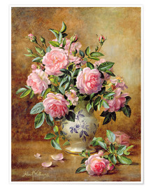 Premium-Poster  Rosa Rosen - Albert Williams