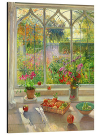 Alu-Dibond  Blick in den Garten - Timothy Easton
