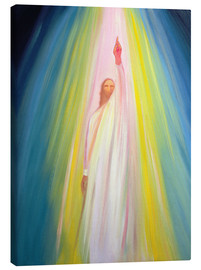 Leinwandbild  Jesus Christ points us to God the Father, 1995 - Elizabeth Wang