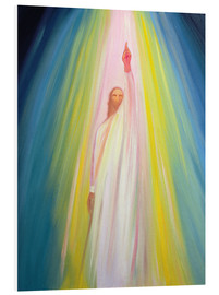 Forex  Jesus Christ points us to God the Father, 1995 - Elizabeth Wang