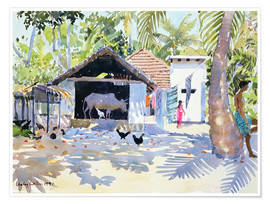 Premium-Poster  Die Backwaters, Kerala - Lucy Willis