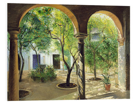 Hartschaumbild  Vianna Palast, Cordoba - Timothy Easton