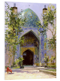 Hartschaumbild  Chanbagh Madrasses, Isfahan - Bob Brown