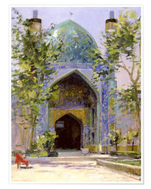 Premium-Poster Chanbagh Madrasses, Isfahan
