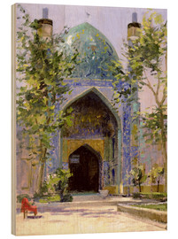 Holzbild  Chanbagh Madrasses, Isfahan - Bob Brown