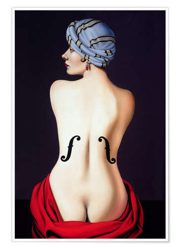 Poster Hommage an Man Ray