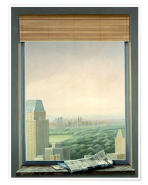 Premium-Poster  New York Central Park - Lincoln Seligman