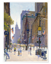 Premium-Poster  Fifth Avenue - Julian Barrow