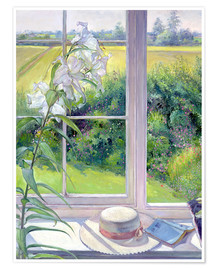 Poster  Leseecke im Fenster, Detail - Timothy Easton