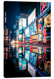 Leinwandbild  Broadway - Times Square - NEW YORK CITY - Sascha Kilmer