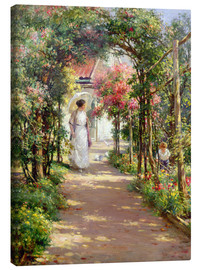Leinwandbild  Sommer im Garten - William Kay Blacklock