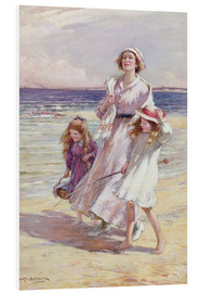 Hartschaumbild  Fröhlicher Tag am Meer - William Kay Blacklock