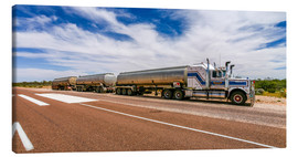 Leinwandbild  Road Train Australia - Thomas Hagenau