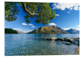 Hartschaumbild  Queenstown Neuseeland - Thomas Hagenau