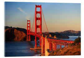 Acrylglasbild  Golden Gate Bridge - Stuart Westmorland