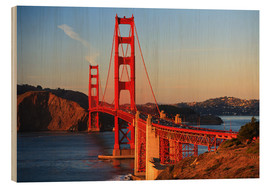 Holzbild  Golden Gate Bridge - Stuart Westmorland