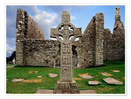 Premium-Poster  Clonmacnoise in Irland - The Irish Image Collection