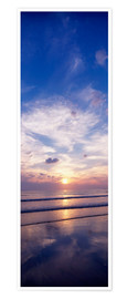 Premium-Poster  Sonnenuntergang am Strand - The Irish Image Collection