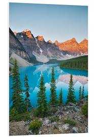 Hartschaumbild  Moraine Lake - Darwin Wiggett
