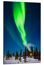 Alubild  Aurora in Alaska - Kevin Smith