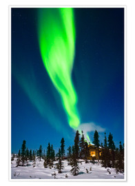 Premium-Poster  Aurora in Alaska - Kevin Smith