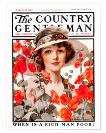 Premium-Poster Cover of Country Gentleman