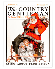 Premium-Poster Cover of Country (Weihnachtsmann)