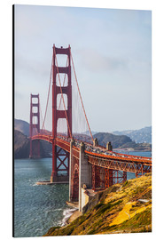 Alubild  Golden Gate Bridge in San Francisco - Leah Bignell