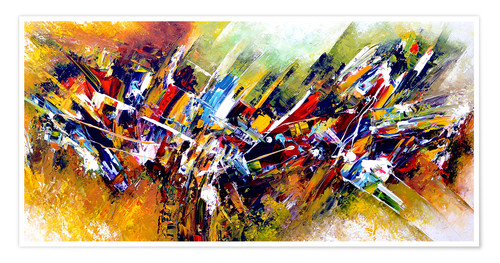 Premium-Poster Abstract 5