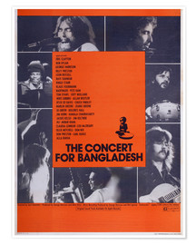 Premium-Poster  THE CONCERT FOR BANGLADESH