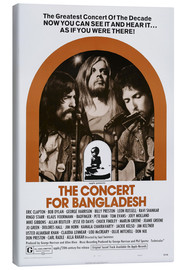 Leinwandbild  THE CONCERT FOR BANGLADESH