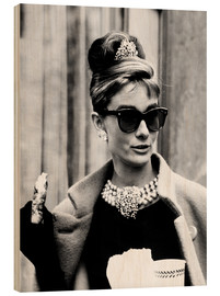 Holzbild  Breakfast at Tiffany's