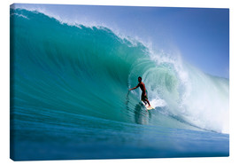 Leinwandbild  Surfen im Traum Welle - Paul Kennedy