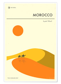 Poster  Morocco - Jazzberry Blue