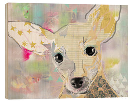 Holzbild  Chihuahua Collage - GreenNest